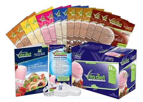 Vita Diet Starter Pack Contents